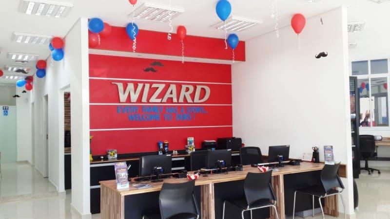 trabalhar na wizard