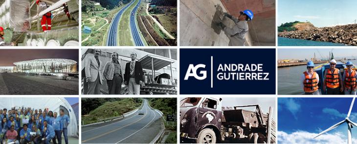 Dedicada a àrea de construção, a Andrade Gutierrez está presentes nas principais infraestruturas do país.